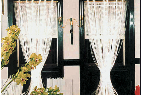 Beaded Light Curtains